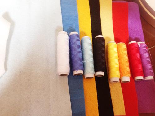 ジバニャンに使う色